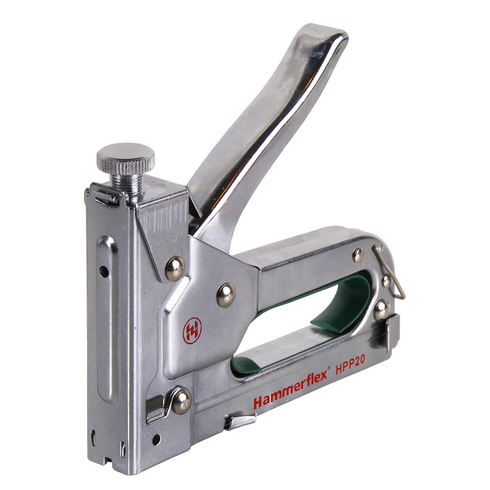Степлер механический Hammer Hpp20 от 220 Вольт
