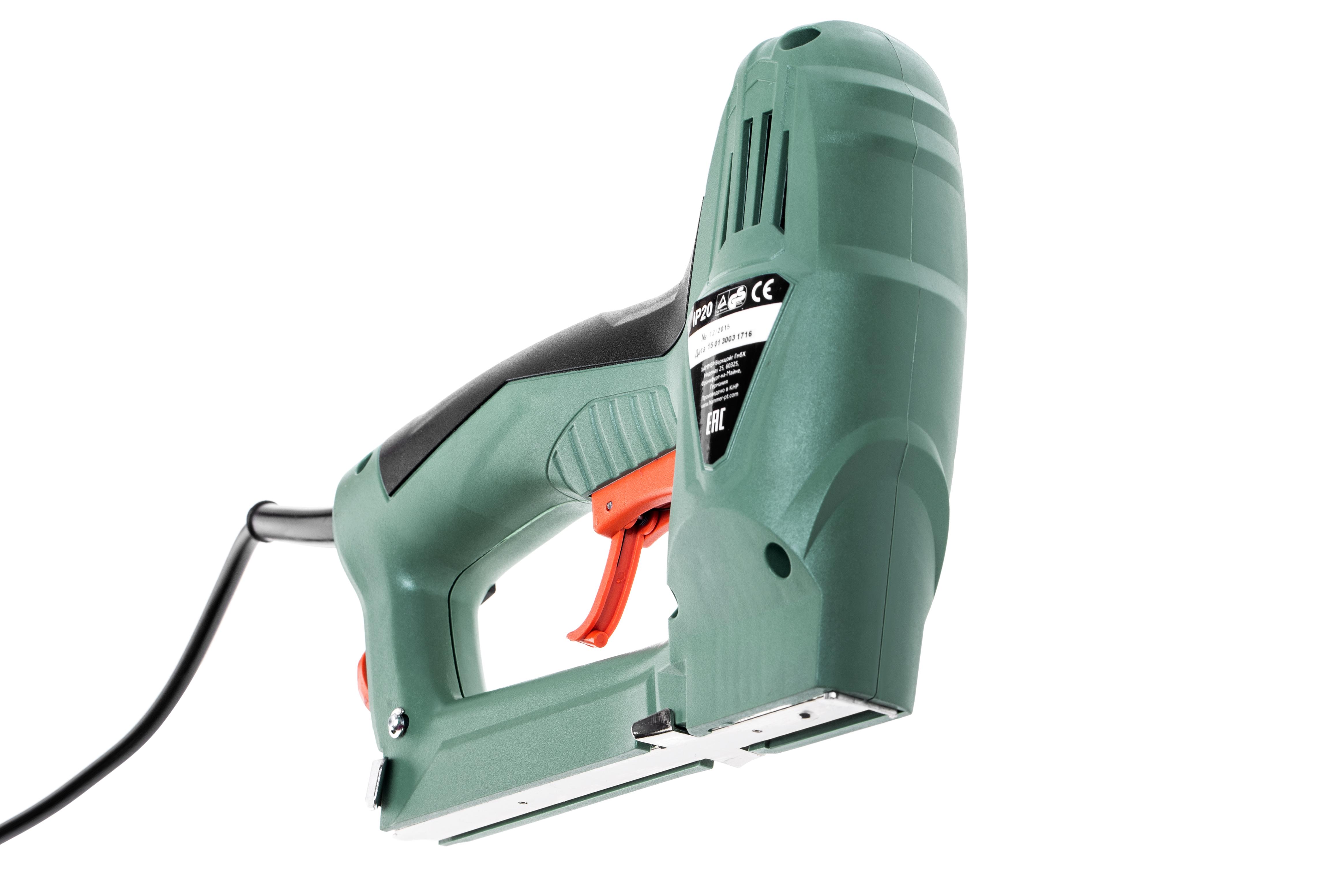 Электрический степлер Hammer Hpe10 электрический от 220 Вольт