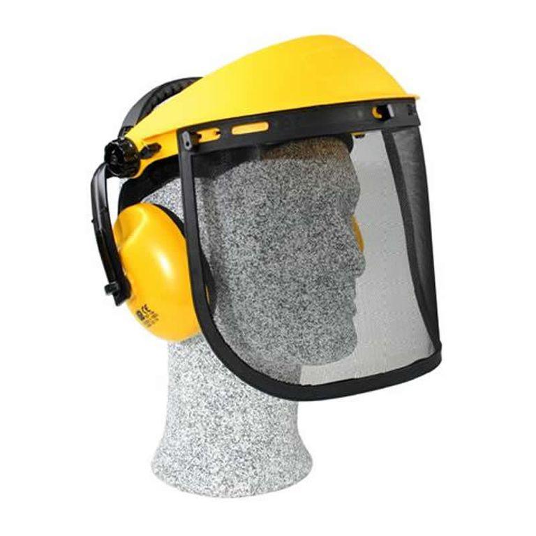 Щиток защитный лицевой с наушниками Champion C1001/c100 очиститель воздуха cado ap c100 ap c100 pm2 5