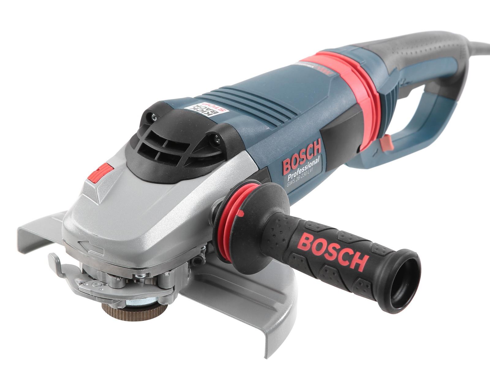 УШМ (болгарка) Bosch Gws 26-230 lvi (0.601.895.f04) угловая шлифмашина bosch gws 26 230 lvi 0 601 895 f04