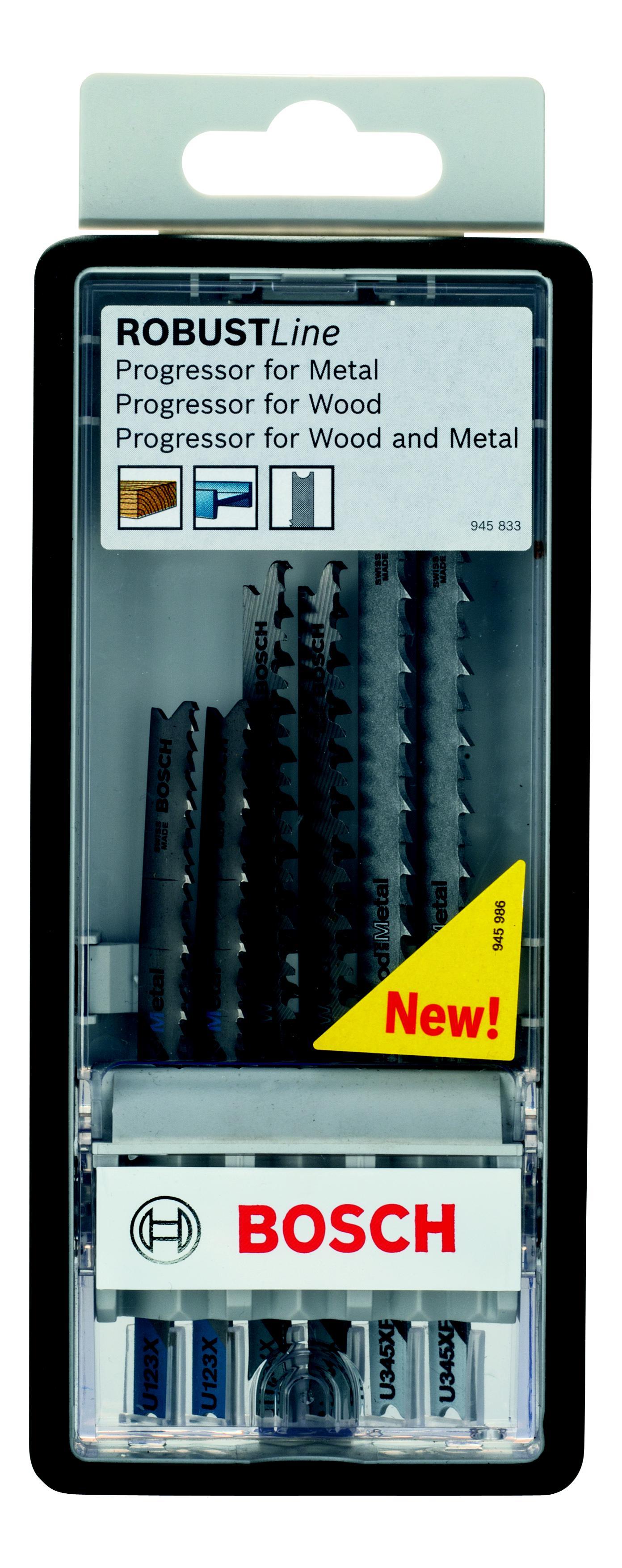 Набор пилок Bosch 2 607 010 532 progressor u (2.607.010.532)