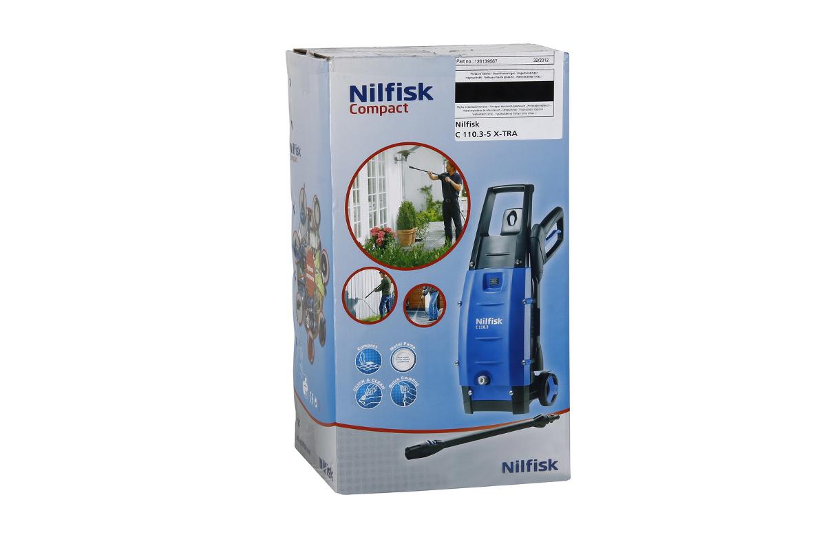 Мойка высокого давления NILFISK C110.3-5 Х-TRA с мятой упаковкой.