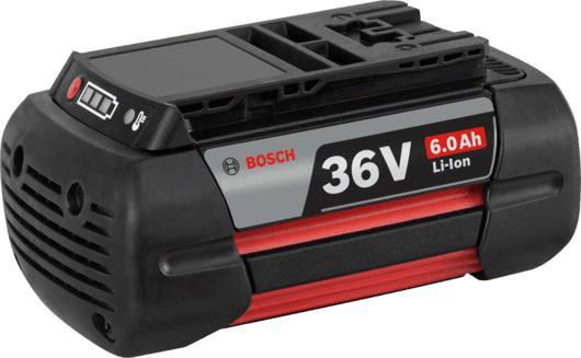Аккумулятор Bosch 36В2.6Ач liion (2.607.336.173) аккумулятор bosch 36в 2 6ач liion 2 607 336 173 36 0в 2 6ач liion для эл инстр