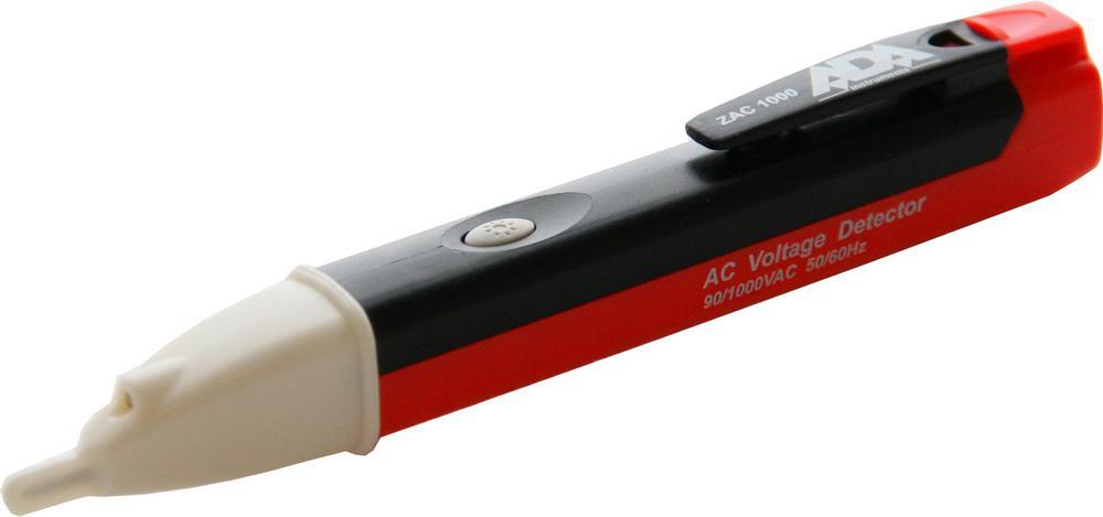 Детектор напряжения АС бесконтактный Ada Детектор напряжения АС бесконтактный zac 1000 алкотестер бесконтактный
