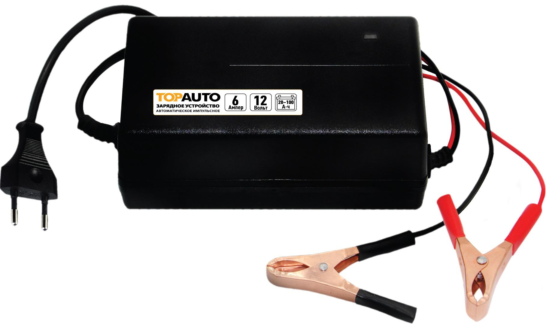 Устройство пуско-зарядное ТОП АВТО АЗУ-6 зарядные устройства для электронных книг