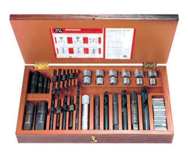 Набор экстракторов Ridgid 25 35590