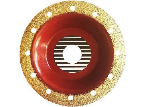 Чашка шлифовальная АЛЬФА Ф125х22мм по дереву/кирпичу/резине (770-106)