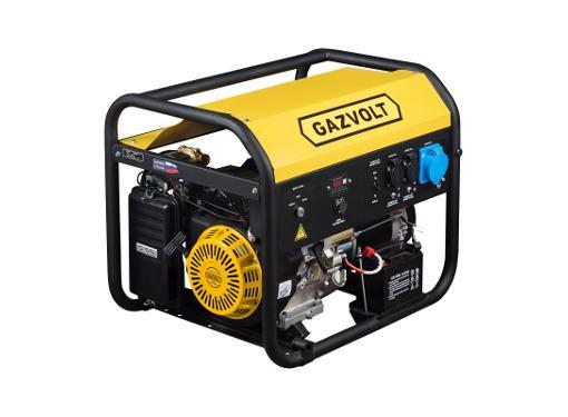 Дизельный генератор GAZVOLT Standard 7500 A SE 01