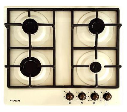 Встраиваемая газовая варочная панель AVEX NS 6031 YR