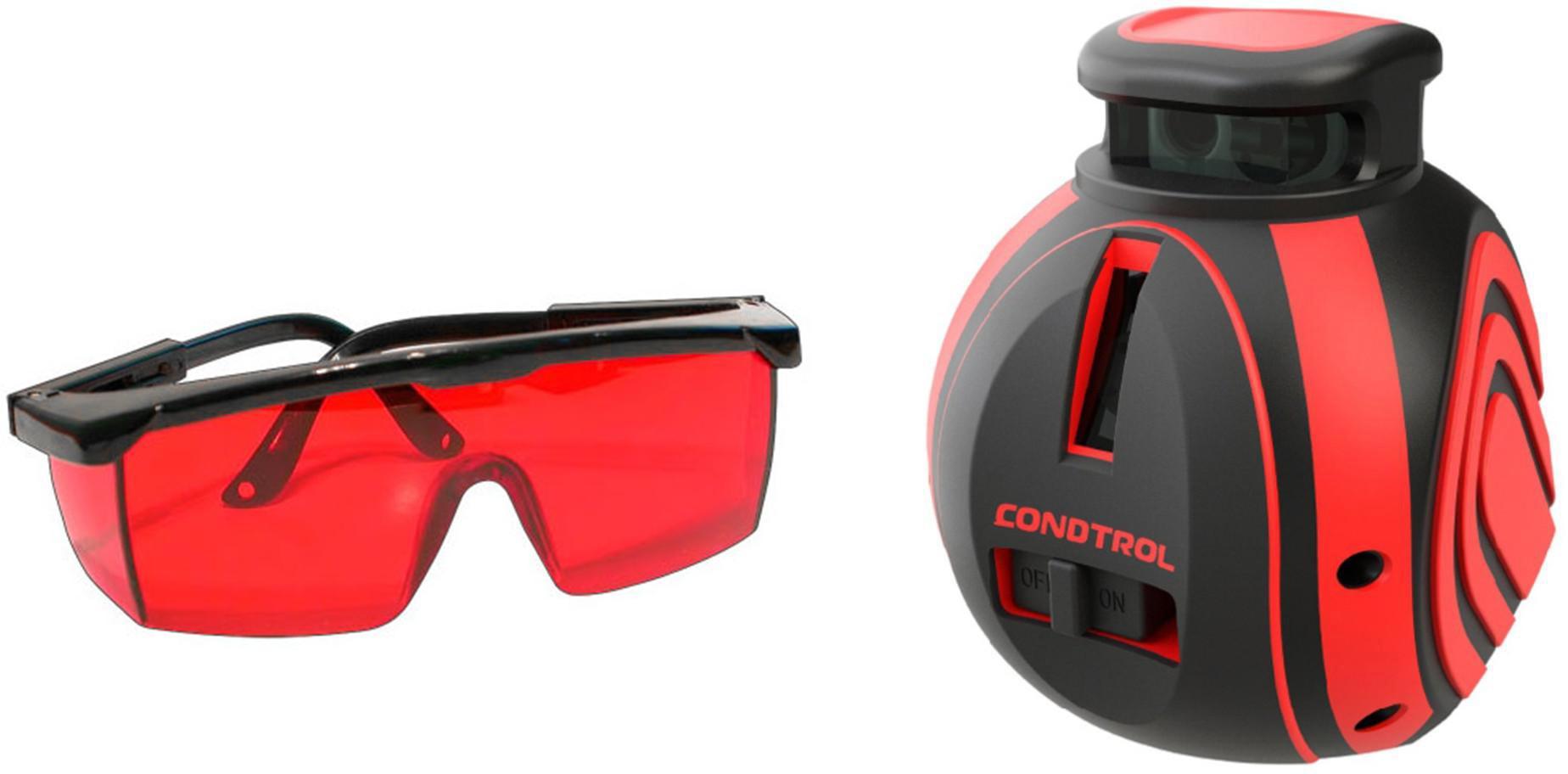 Набор Condtrol Уровень unix360 +Очки для работы с лазерными приборами уровень condtrol unix360 green pro