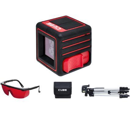 Набор ADA Уровень Cube Professional Edition +Очки для работы с лазерными приборами
