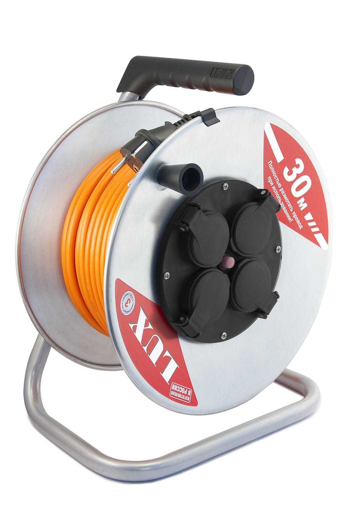 Удлинитель Lux К4-Е-30 50130