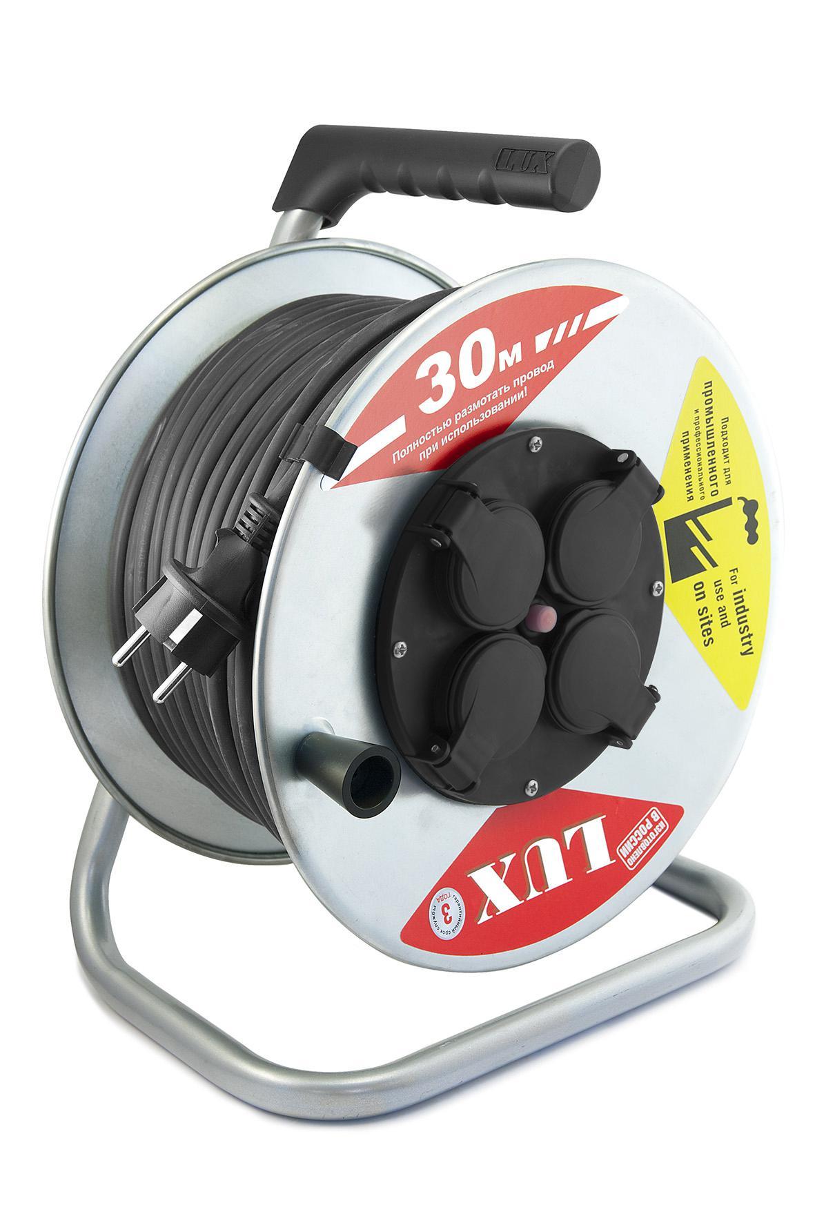 Удлинитель Lux К4-Е-30 54130