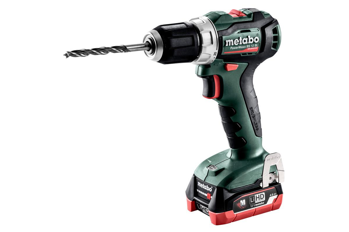 Дрель-шуруповерт Metabo Powermaxx bs 12 bl (601038800, Powermaxx bs 12 bl (601038800)