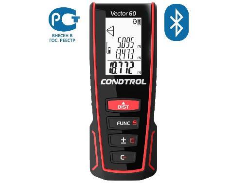 Лазерный дальномер CONDTROL Vector 60, Bluetooth
