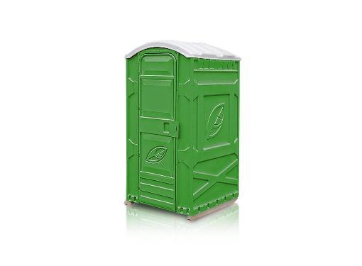 Туалетная кабина ЭКОЛАЙТ Дачник П0000017445Зел