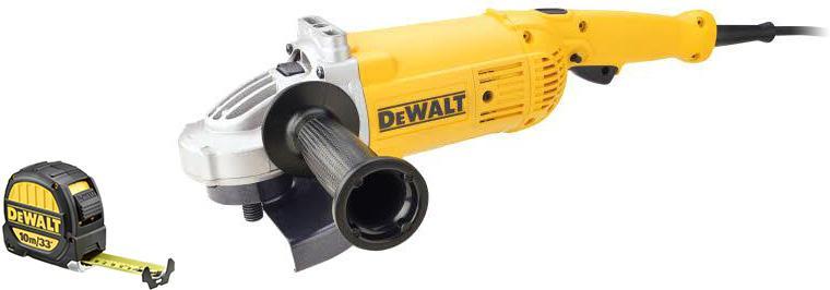 Набор Dewalt УШМ (болгарка) dwe496-ks +Рулетка dwht0-33993 болгарка dewalt dwe4257 ks