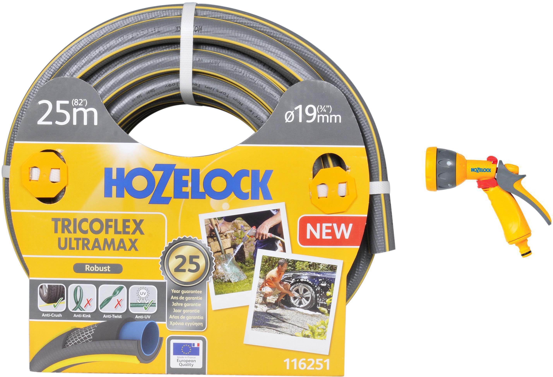 Набор Hozelock Шланг 116251 tricoflex ultramax +Пистолет 2676 multi spray