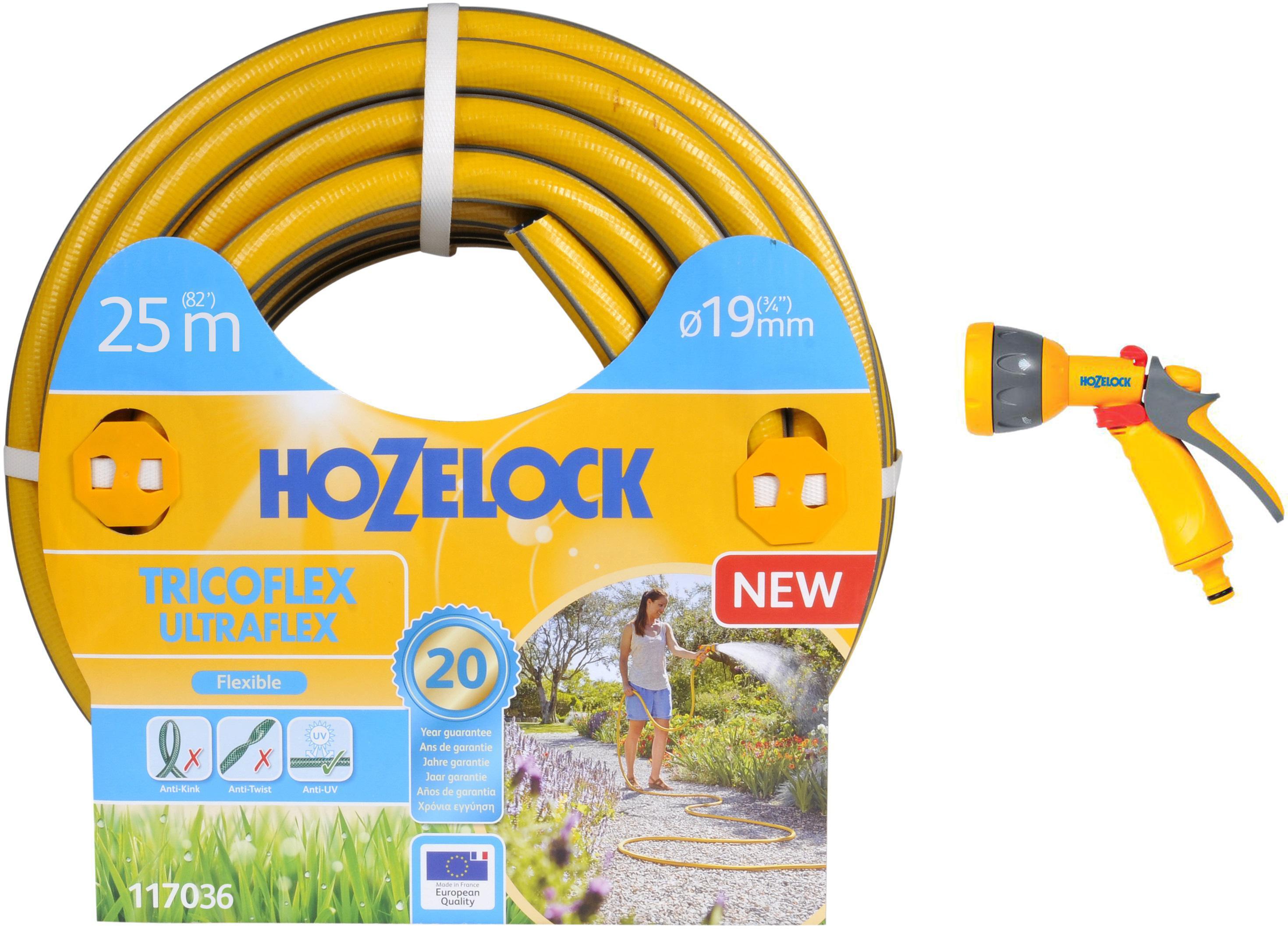 Набор Hozelock Шланг 117036 tricoflex ultraflex +Пистолет 2676 multi spray