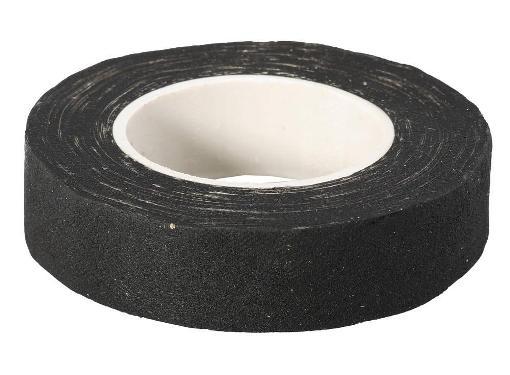 Тканевая черная изолента (хб) ЗУБР 18мм х 9м (1231-11)