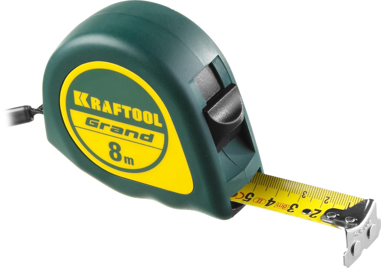 Рулетка Kraftool Grand 34022-08-25