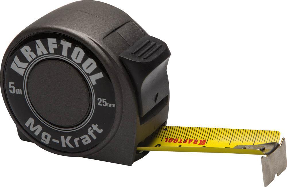 Рулетка Kraftool Mg-kraft 34129-05-25 цена
