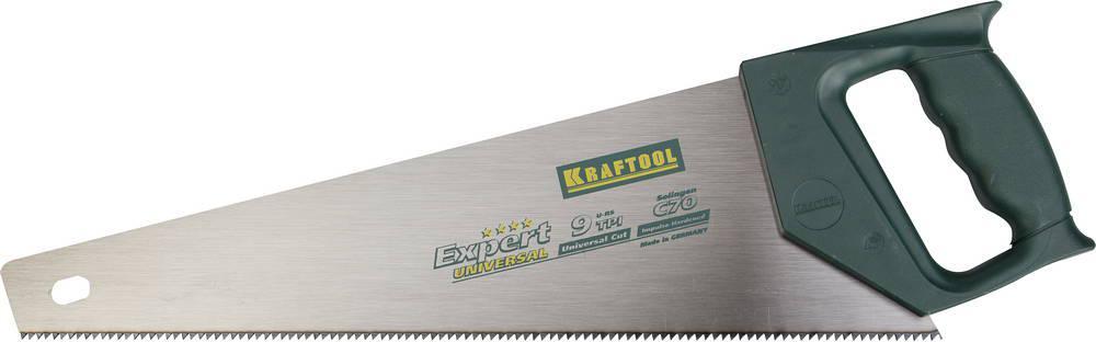 Ножовка Kraftool 15004-40 universal ножовка kraftool 400мм 9 10tpi quick 15004 40