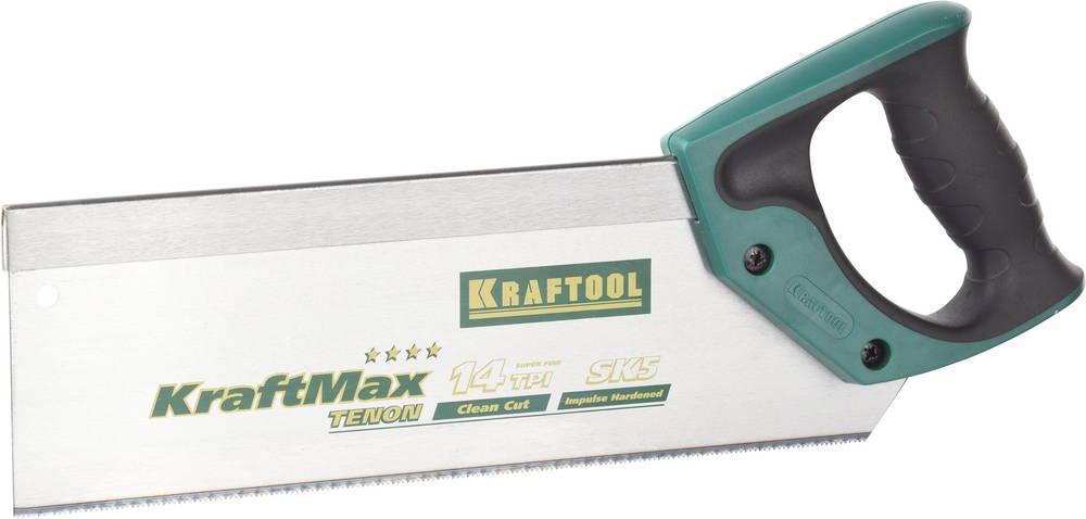 Фото - Ножовка Kraftool 15228-30 kraftmax tenon ножовка kraftool 1 15181 30 14