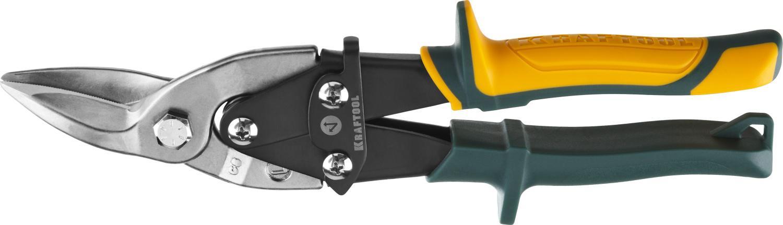 Ножницы по металлу Kraftool 2328-l alligator ножницы по металлу kraftool alligator 260мм 2328 l
