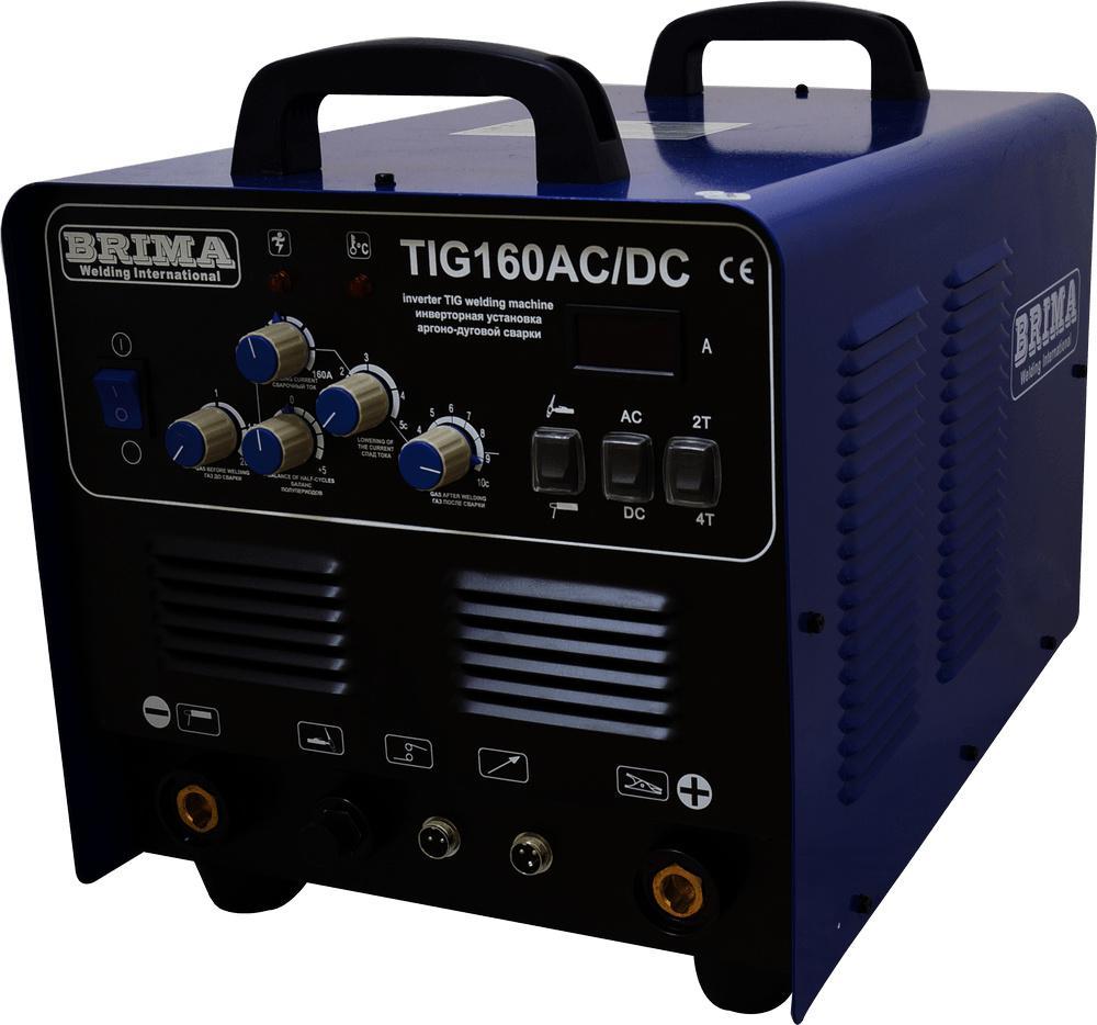 все цены на Сварочный аппарат Brima Tig-160 ac/dc онлайн