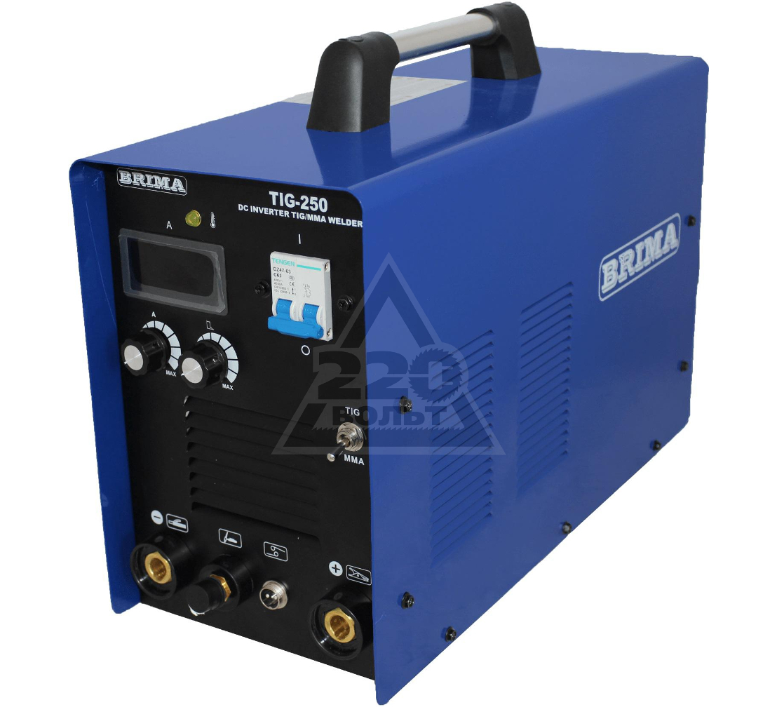 Сварочный аппарат BRIMA TIG-250 (220V)