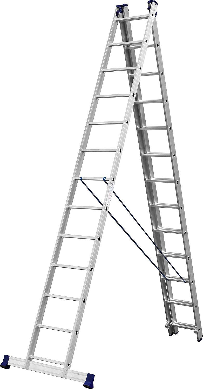 Фото - Лестница СИБИН 38833-13 лестница трансформер шарнирная профи 4 секции по 4 ступени 1 алюмет