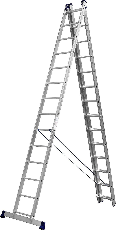 Фото - Лестница СИБИН 38833-14 лестница трансформер шарнирная профи 4 секции по 4 ступени 1 алюмет
