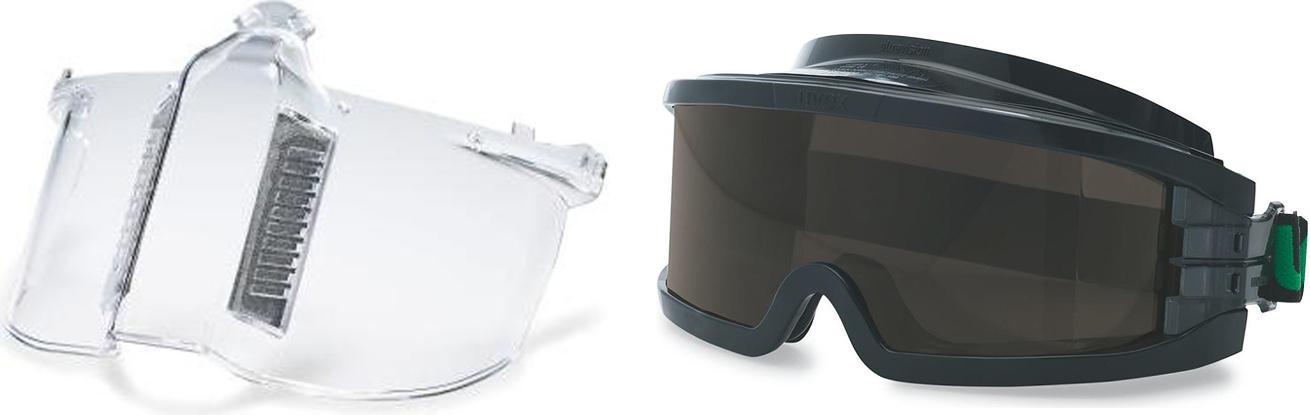 Набор Uvex Маска Ультравижн 9301317 +Очки Ультравижн 9301145 маска медицинская защитная latio классик 50шт
