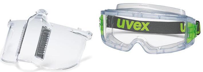 Набор Uvex Маска Ультравижн 9301317 +Очки Ультравижн 9301714 маска uvex ультравижн 9301317