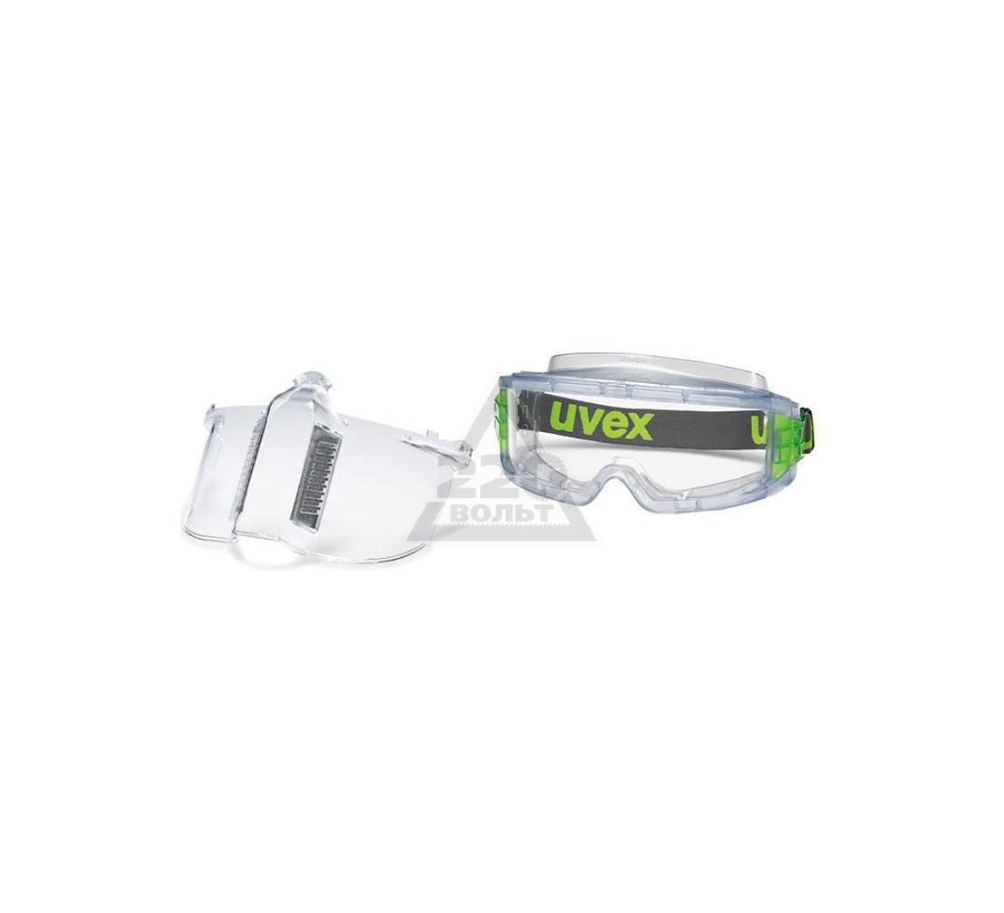 Набор UVEX Маска Ультравижн 9301317 +Очки Ультравижн 9301714
