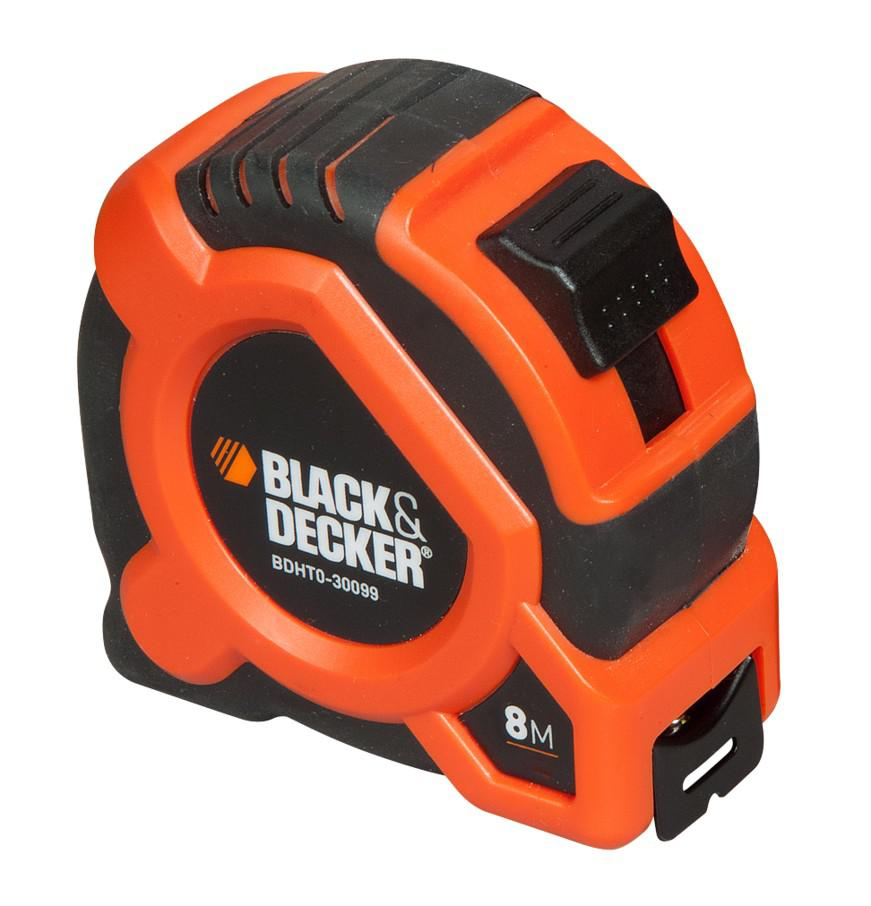 Рулетка Black & decker Bdht0-30099 брелок рулетка квадратный пластик оранжевый