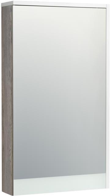 Зеркало-шкаф АКВАТОН ЭММА 46см (1a221802ead80) акватон шкаф для ванной акватон симпл двухстворчатый