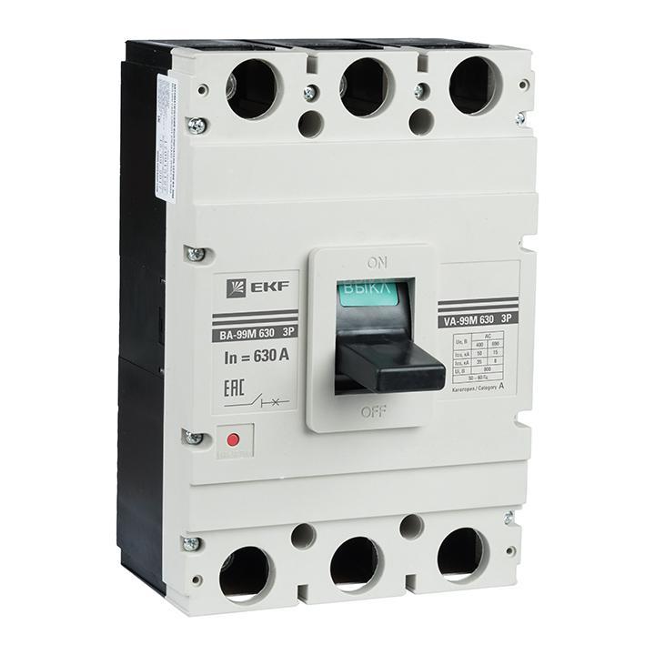 Автомат Ekf Mccb99-630-400m выключатель ekf mccb99 800 800