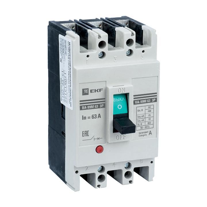 Автомат Ekf Mccb99-63-32m автомат ekf mccb99 63 50m