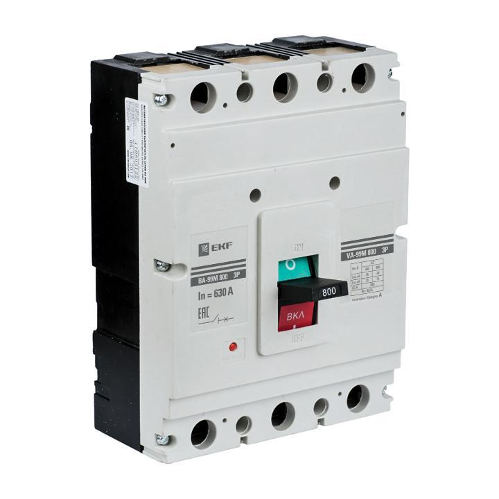 Автомат Ekf Mccb99-800-800m выключатель ekf mccb99 800 800