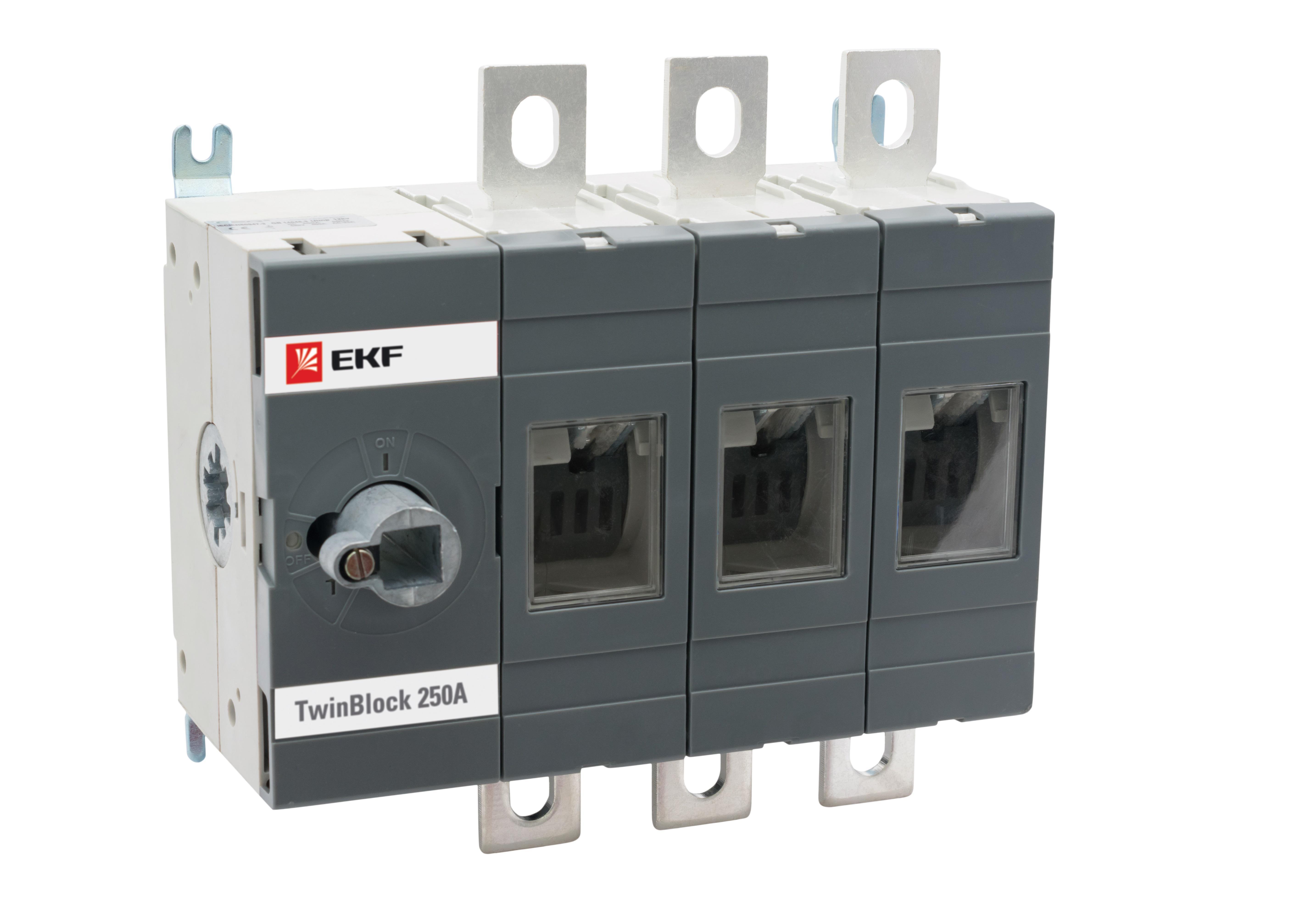 Рубильник Ekf Tb-s-250-3p