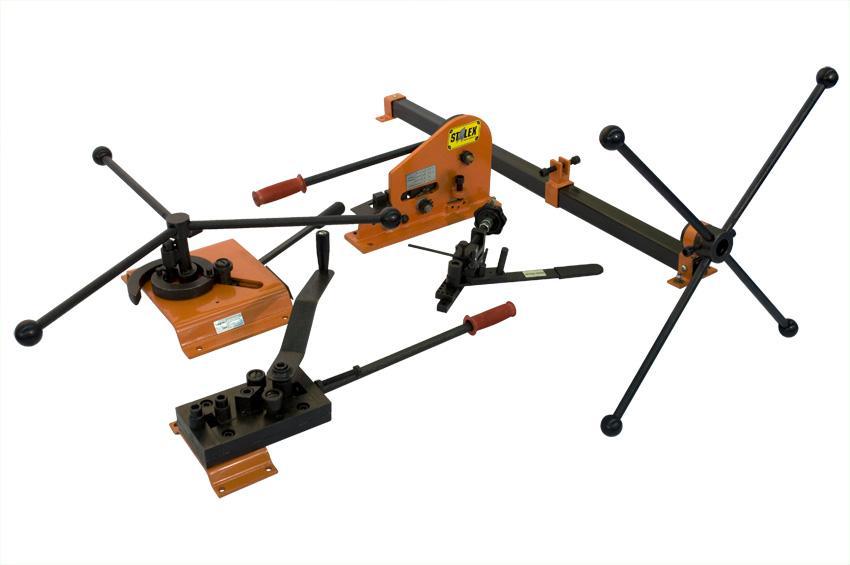Фото - Набор Stalex 376102 набор роликов для профильной трубы 25 50 мм для трубогибов серии hb stalex 100942
