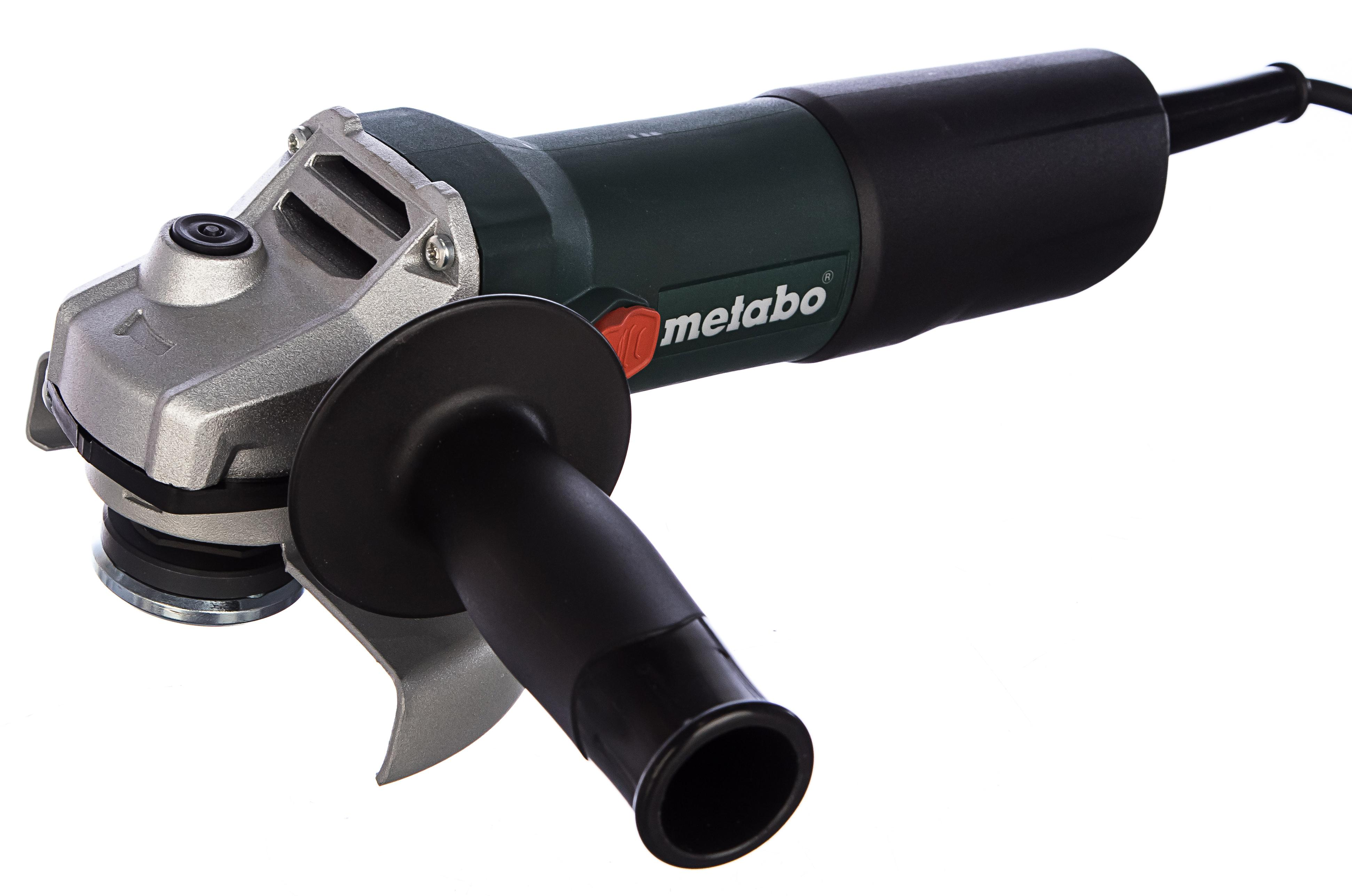 Фото - УШМ (болгарка) Metabo W850-125 603608010 набор metabo ушм болгарка w 9 125 600376010 лента ремонтная 240 001
