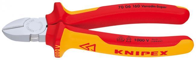 Кусачки для проволоки Knipex 7006180 кусачки усиленные truper 254 мм