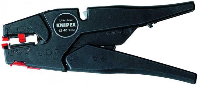 Купить Щипцы для зачистки электропроводов Knipex 1240200 Инструмент для снятия изоляции