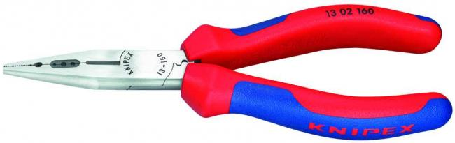 Утконосы Knipex 1302160 160мм инструмент для снятия изоляции knipex kn 1302160