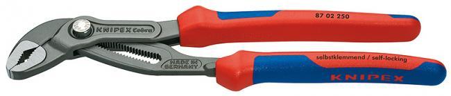 Ключ трубный переставной Knipex 8702250 трубный газовый ключ sturm 50 мм 1045 01 pw50