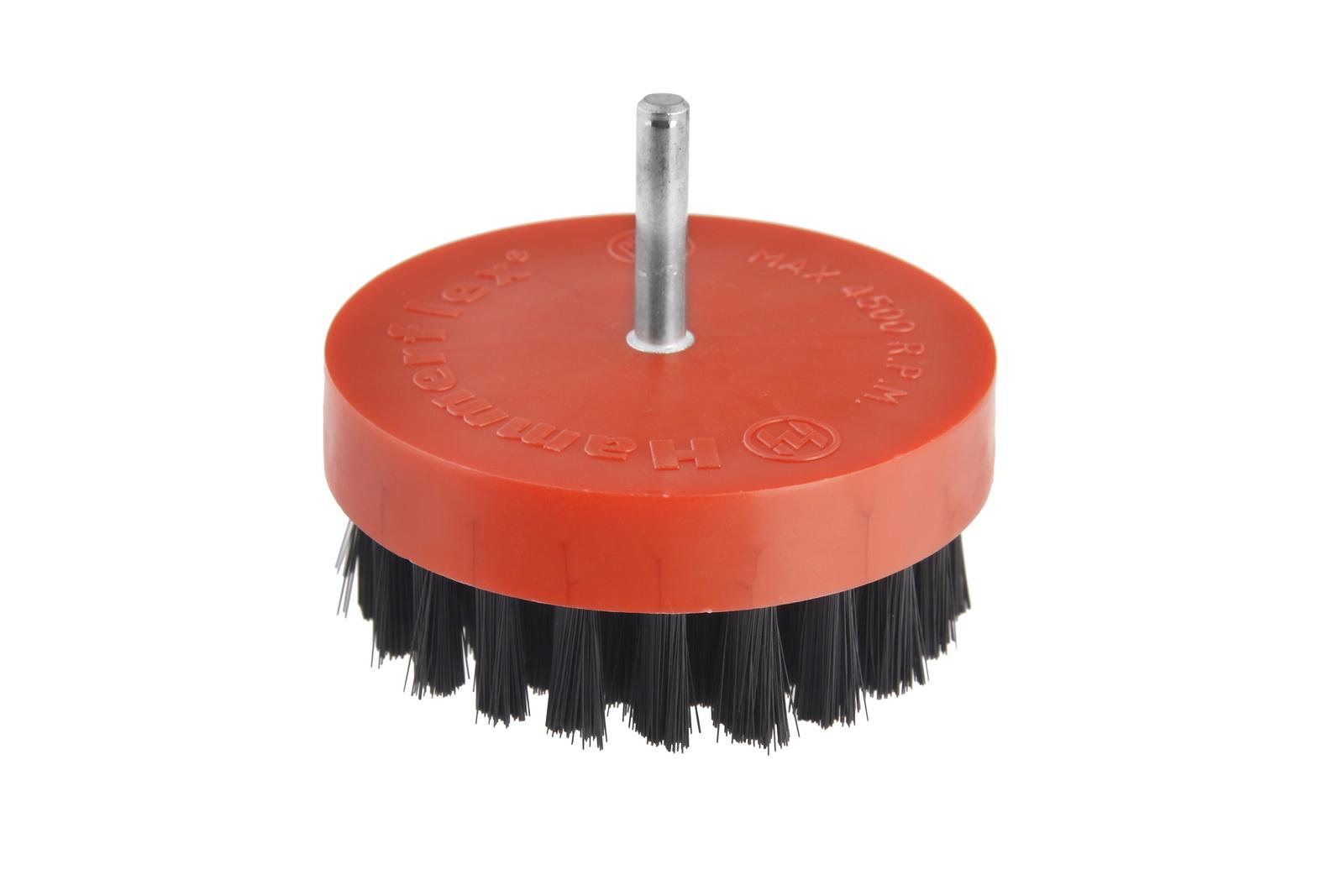 Кордщетка Hammer 207-217 80*0,5*d6 чашеобразная нейлоновая для полировки водонагреватель для кухни macro d6 sa8sxf