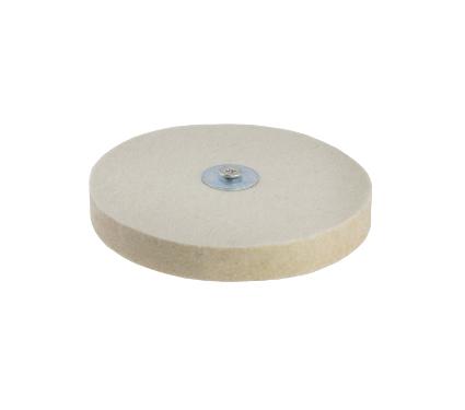 Купить Круг полировальный HAMMER 227-020 PD d6 FL 115 x 6 мм, оснастка для полирования
